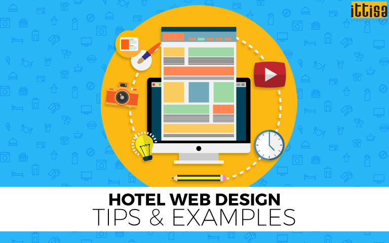 hotel web design tips and examples